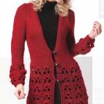 modèle gilet tricot katia #13