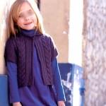 modèle gilet tricot katia #7