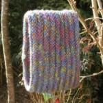 modèle tour de cou en tricot #11