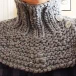 modèle tour de cou en tricot #14