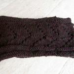 modèle tour de cou en tricot #16