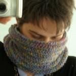 modèle tour de cou en tricot #18