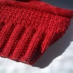 modèle tour de cou en tricot #2