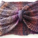 modèle tour de cou en tricot #3