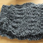 modèle tour de cou en tricot #4