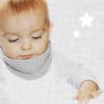 modèle tricot écharpe bébé #12