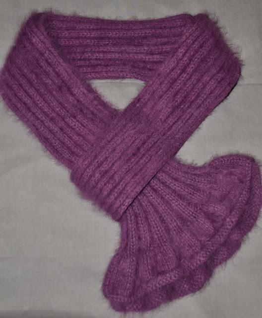 modèle tricot écharpe bébé #15
