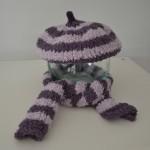 modèle tricot écharpe bébé #16