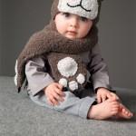 modèle tricot écharpe bébé #18