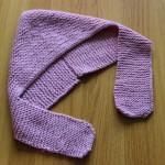 modèle tricot écharpe bébé #6