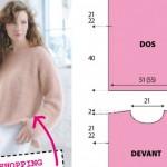 modèle tricot angora #17