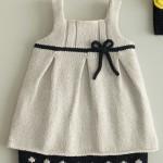 modèle tricot bébé en coton #10