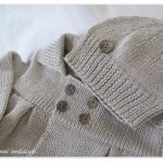 modèle tricot bébé en coton #14