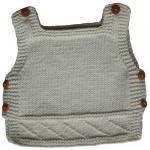 modèle tricot bébé en coton #15