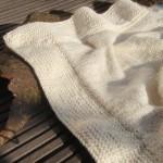modèle tricot bébé en coton #17