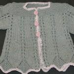 modèle tricot bébé en coton #2