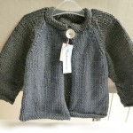 modèle tricot bébé en coton #3
