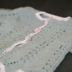 modèle tricot bébé en coton #4
