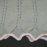 modèle tricot bébé en coton #6