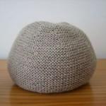 modèle tricot bonnet femme point mousse #16