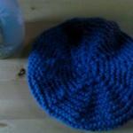 modèle tricot bonnet femme point mousse #17