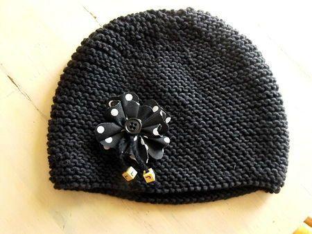 Mod le tricot bonnet femme point mousse 18 - Modele tricot bonnet femme facile ...