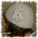 modèle tricot bonnet femme point mousse #2