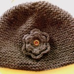 modèle tricot bonnet femme point mousse #5
