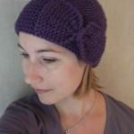 modèle tricot bonnet fille #10