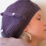 modèle tricot bonnet fille #13