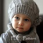 modèle tricot bonnet fille #1