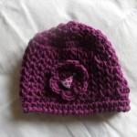 modèle tricot bonnet fille #3