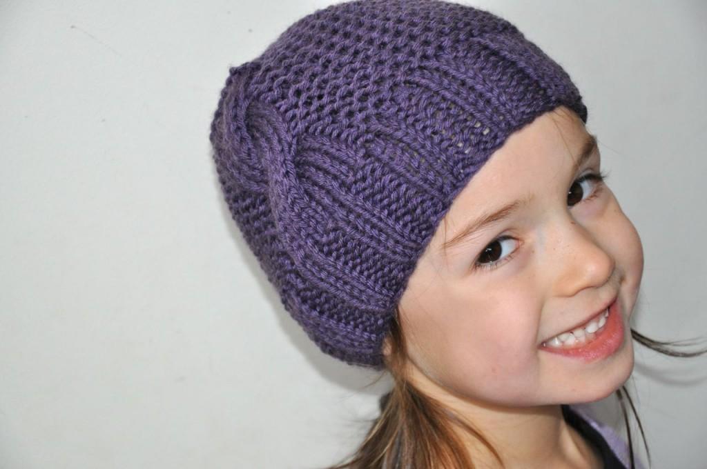 modele bonnet tricot fille