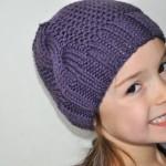 modèle tricot bonnet fille #4