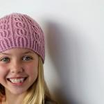modèle tricot bonnet fille #6