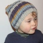 modèle tricot bonnet fille #7