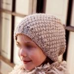 modèle tricot bonnet fille #8