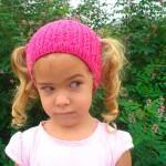modèle tricot bonnet fille #9