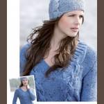 modèle tricot bonnet torsade femme #10
