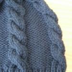 modèle tricot bonnet torsade femme #15
