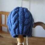 modèle tricot bonnet torsade femme #16