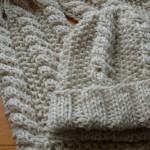 modèle tricot bonnet torsade femme #17