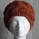 modèle tricot bonnet torsade femme #9