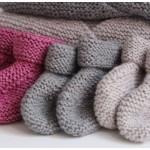 modèle tricot chausson bébé #7