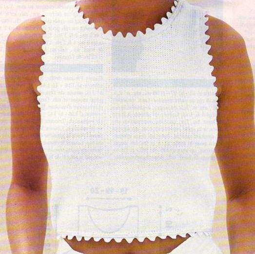 modèle tricot débardeur homme #14