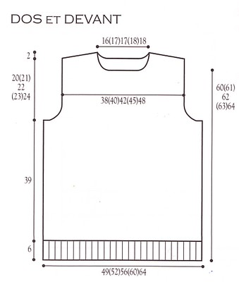 modele tricot gratuit debardeur homme. Black Bedroom Furniture Sets. Home Design Ideas