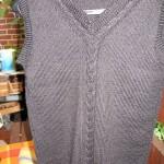 modèle tricot débardeur homme #3