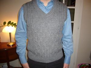 modèle tricot débardeur homme #8