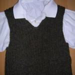 modèle tricot débardeur homme #9