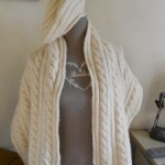 modèle tricot debutant torsade #13